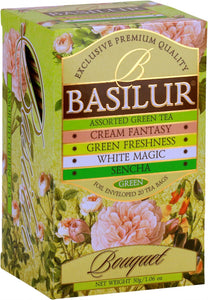 Basilur Tea Bouquet Assorted Green Tea 20 EN tea bags