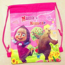 Load image into Gallery viewer, Masha & the bear school bag