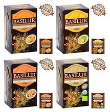 "Load image into Gallery viewer, Basilur Caffeine-free Rooibos - ""Organic Rooibos with Orange & Ginger"" (20 Sachets)"