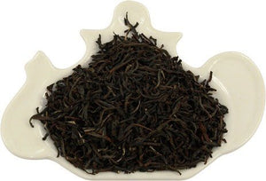 Black loose leaf tea with white tips