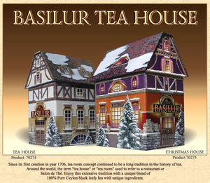 Christmas House - 100g (Black tea with vanilla, lemon, orange)