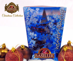 Basilur Tea Winter Fantasy 85g packets assorted