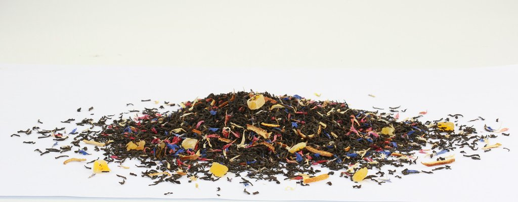 Black tea with Pineapple, Mango, Orange peel, Cornflower & Passion fruit 500g