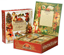 Load image into Gallery viewer, Basilur Vintage Style Gift Collection Assorted Tea Bag Gift Box 4x10 tea bags