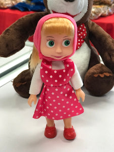 Masha the doll from the carton Masha & the bear