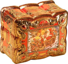 Load image into Gallery viewer, BASILUR RED TOPAZ - Ceylon Black Tea, cherry, almond & mint - Basilur Treasure collection gift tin
