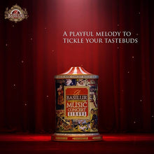 Load image into Gallery viewer, Basilur Winding Music Concert Gift Tin - Circus - Black tea with Papaya, Raisin, Vanilla & Almond