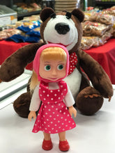 Load image into Gallery viewer, Masha the doll from the carton Masha & the bear