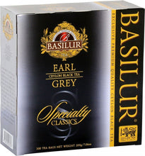 "Load image into Gallery viewer, ""Earl Grey"" Specialty Classics Collection - 100 Count String and Tag Tea Bags"
