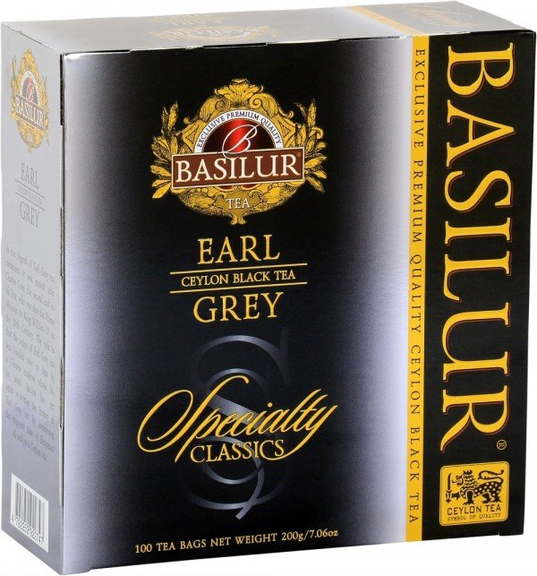 """Earl Grey"" Specialty Classics Collection - 100 Count String and Tag Tea Bags"
