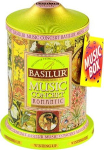 Basilur Music Concert Romantic Green tea 100g