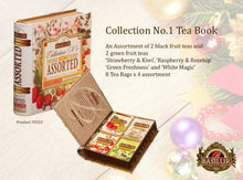 Load image into Gallery viewer, Assorted Tea Book Collection No1 32EN tea bags