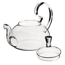 Load image into Gallery viewer, Elegant Heat Resistant Glass Teapot 600ml