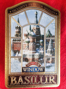 Window Moscow black tea with papaya & cherry 100g