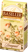 Load image into Gallery viewer, Basilur Flower White Magic Bouquet - Ceylon Milky Oolong Green Tea 100g