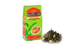 Load image into Gallery viewer, Premium Ceylon Green Tea with GINGER & ORANGE 100g