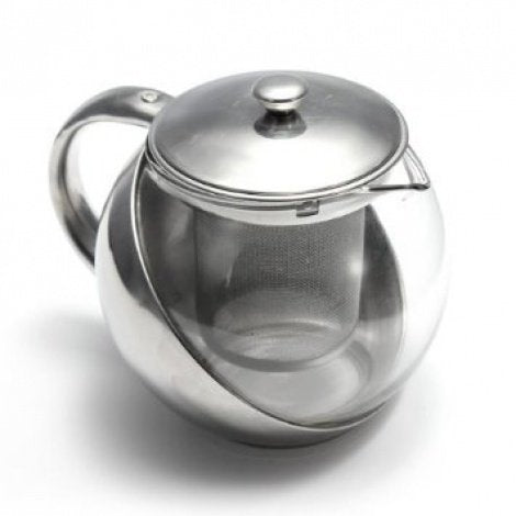 Stainless Steel Glass Teapot 500ml