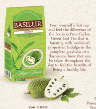 Load image into Gallery viewer, Soursop green loose tea 100g