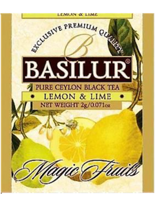 Basilur Magic Fruits Assorted Gift - Mix of the Finest Fruity Black teas (in tea bags) 20 tea bags