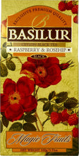 Load image into Gallery viewer, Basilur Magic Fruits - Black tea with Raspberry & Rosehip 100g