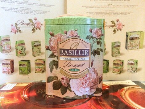 Bouquet Cream Fantasy - green tea with rose, papaya & pineapple