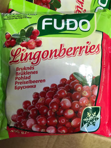 Frozen berries - Cranberry, Lingonberries, Blackcurrant, raspberry 400g