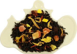 Basilur Two Layer - Exotic fruits black tea & pure Ceylon Black Tea (Uva region)