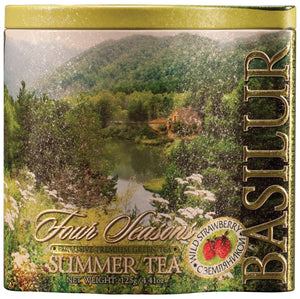 Summer Tea - green leaf 125g in metal tin
