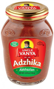 UNCLE VANYA Adzhika Abkhazian 140 g glass jar
