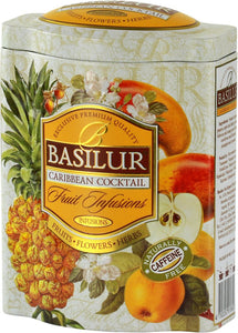 Basilur Fruit Infusions - Caribbean Cocktail - Coconut, pineapple, cherry, papaya