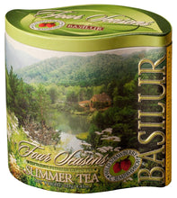 Load image into Gallery viewer, Summer Tea - green leaf 125g in metal tin