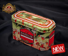 Load image into Gallery viewer, Premium black & green tea with fruit infusions x 20 tea bags in metal caddy