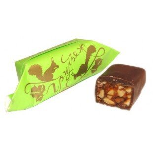 Griliage - candied roasted nuts in chocolate 200g