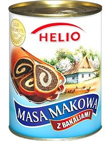 HELIO Poppy seeds mass in tin 850g