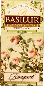 Basilur Flower White Magic Bouquet - Ceylon Milky Oolong Green Tea 100g