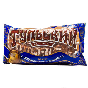 Original Russian Traditional Tula Honey Cake Gingerbread Tulsky Pryanik with fruit filling 140g