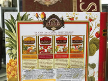 Load image into Gallery viewer, TEA BOOK Assorted tea bags FRUITY DELIGHT caffeine free 32EN