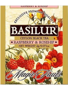 Tea Gift Box Basilur Magic Fruits Assorted Black Fruit Teas (40 sachets)
