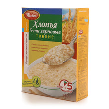 Load image into Gallery viewer, Uvelka Flakes 5 grains 350g - rye, wheat, oat, millet