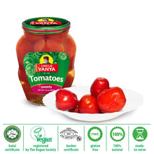 Load image into Gallery viewer, UNCLE VANYA Tomatoes Marinated sweet 680g glass jar