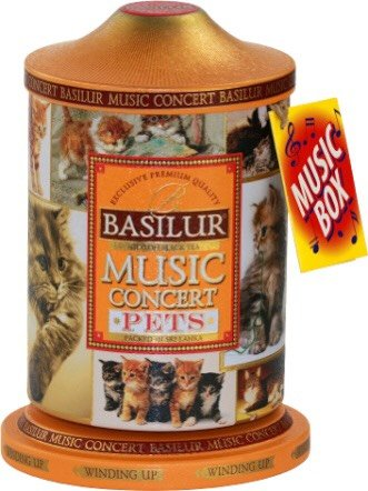 Basilur Music Concert Pets Cats black tea 100g