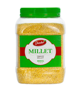 DANDAR millet / Pscheno 900g PET can ПШЕНО