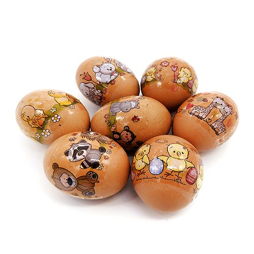 Baby Zoo, Easter Egg Shrinking Wraps (Set of 7)