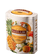 Load image into Gallery viewer, Basilur Fruit Infusions - Caribbean Cocktail - Coconut, pineapple, cherry, papaya