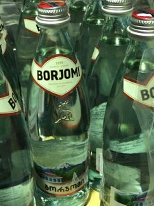 Mineral water Borjomi Therapeutic Carbonated 0.5L