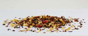 Basilur Fruit Infusions Indian Summer Herbal Tea - A blend of dried fruits and flower