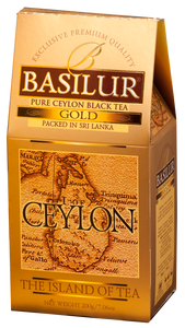 Basilur Island of Tea GOLD - Pure Ceylon Black Tea (OP1) 200g