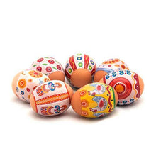 Load image into Gallery viewer, Dymkovo Toys Easter Egg Shrinking Wraps (Set of 7)