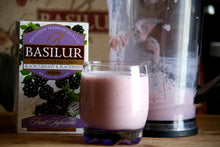 Load image into Gallery viewer, Basilur Fruit Infusion Caffeine Free - Blackcurrant & Blackberry 25 tea bags