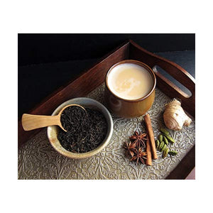 Masala Chai - Spiced Black Tea with Cinnamon, Ginger, Cloves, Nutmeg & Pepper